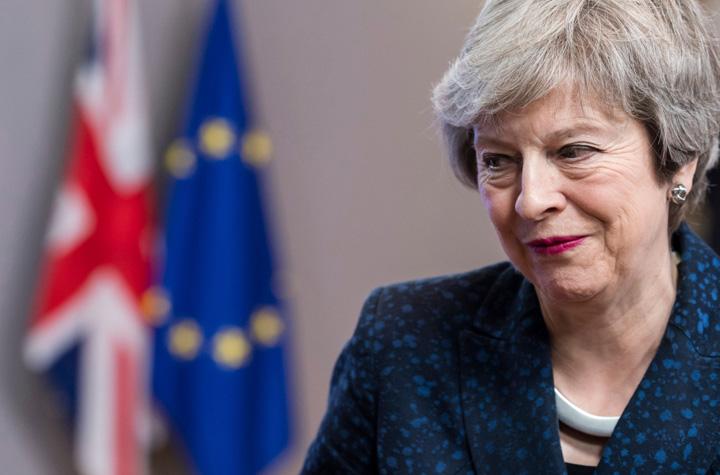 may Theresa May e pe duca ?