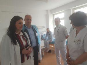 ministru Pintea, vizita la Horezu. Suma pe care o primeste spitalul de la MS