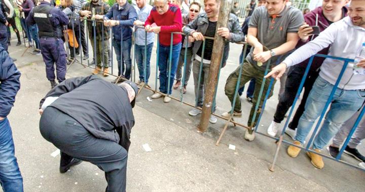 miting Plangere penala dupa mitingul PSD de la Iasi