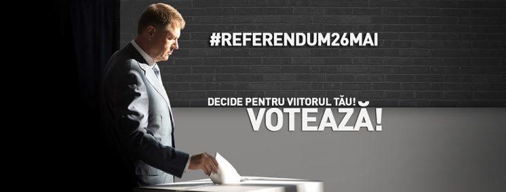 referend 720x274 Iohannis, mesaj matinal legat de referendum