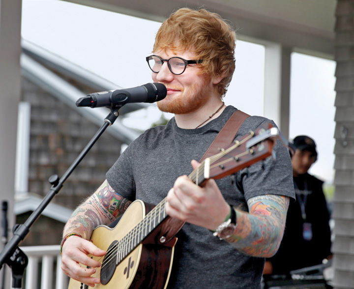 sheeran Ed Sheeran si a dublat averea intr un an