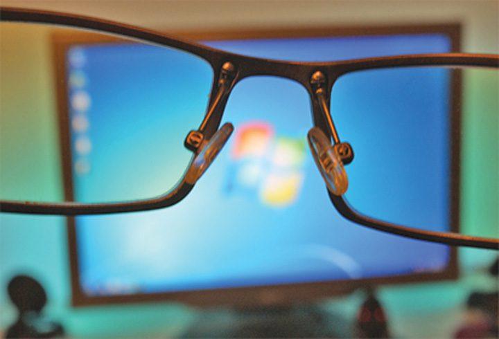 Calculatorul vă strică vederea