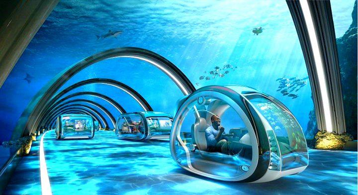 """Capsulele subacvatice care vor revoluționa călătoriile dintre Marea Britanie și restul lumii 720x393 Cum va arăta lumea """"Revoluției Digitale"""" în anul """"senzualității"""" 2069"""