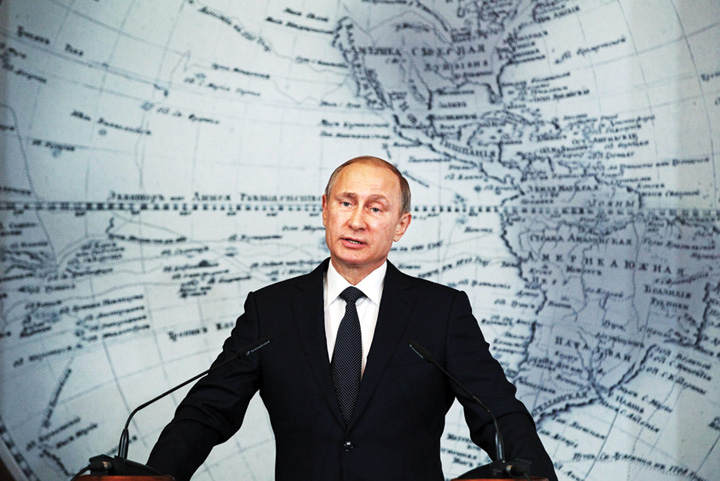 putin 2500x1667 Putin mai cucerește o regiune: Rusia a anexat Polul Arctic!