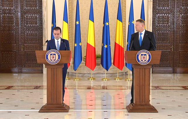 orban iohannis 1 Predare de ștafetă la MAE, în prezența lui Iohannis și Orban