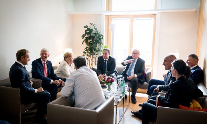 summit bruxelles 720x432 Spălarea cadavrului politic Iohannis