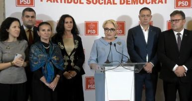 dancila dupa votarea noului guvern Dăncilă: Este o zi neagră pentru democrație. Avem un președinte dictator, abuziv