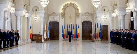 guvern 2 Klaus Iohannis, față în față cu Guvernul Ludovic Orban, la Cotroceni (VIDEO)