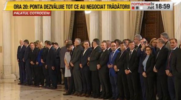 guvern1 Klaus Iohannis, față în față cu Guvernul Ludovic Orban, la Cotroceni (VIDEO)