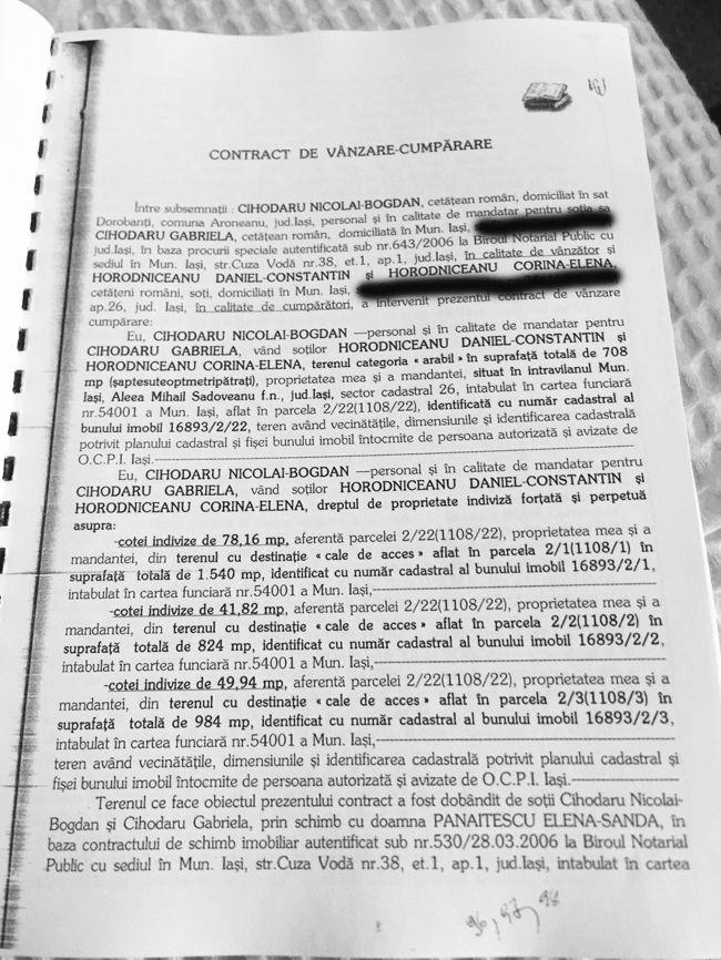PHOTO 2020 01 05 14 21 43 Avem actele: Horodniceanu, teren de la miliardarul condamnat!