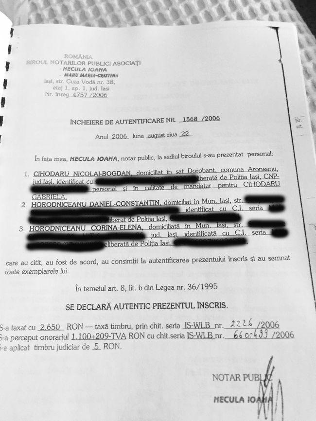 PHOTO 2020 01 05 14 21 45 Avem actele: Horodniceanu, teren de la miliardarul condamnat!