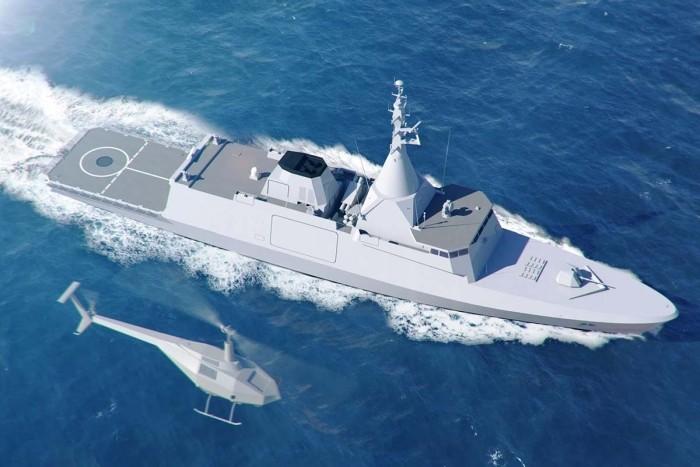 corvette naval